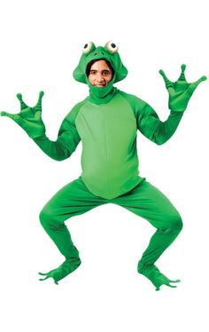 So many fancy dress costumes and so little time! Visit CostumeBox to discover costume and dress up ideas for your next part. Frog Costume, Joker Costume, Halloween Costumes, Diy Costumes, Costume Ideas, Frogs Preschool, Princesa Tiana, Frog Meme, Children Costumes