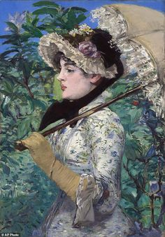 (France) Artemis dreaming, spring 1881 by Edouard manet (1832- 1883). Oil on canvas.