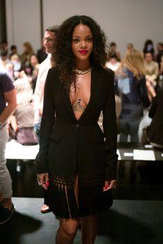 Rihanna the Rebellious NYFW At Altuzarra