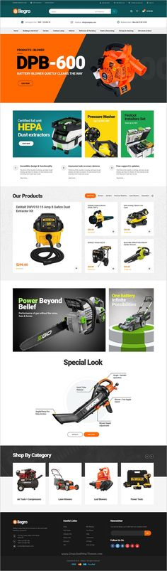 Allegro is a premium 5in1 #WooCommerce #WordPress Theme ideal for #Tools and Machine Equipment Stores eCommerce websites download now➩ https://themeforest.net/item/allegro-woocommerce-wordpress-theme-for-hand-tool-equipment-stores/19198431?ref=Datasata ht