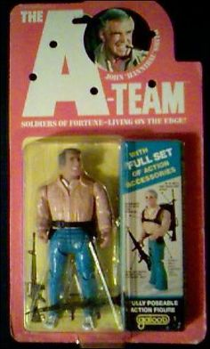 """a-team 6"""" galoob  