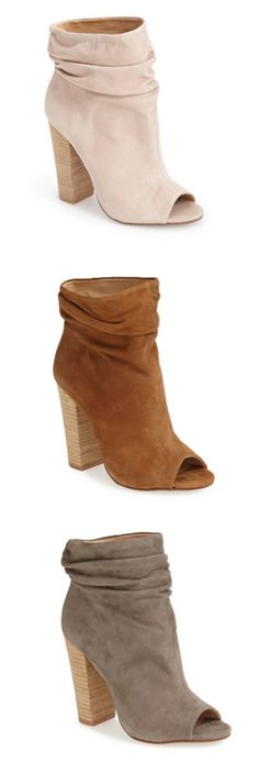 Slouch booties: i'll take a pair in each color, please! So feminine and pretty. http://www.revolvechic.com/#!/c21as