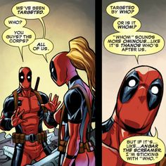 Deadpool Kills Deadpool #1 - I will now always base my usage of who vs whom on how ominous I want my sentence to sound. ;)
