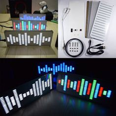 Cheap kit kits, Buy Quality kit musical directly from China kit digital Suppliers: Wholesale Price DIY Big Size Touch Control 225 Segment LED Digital Equalizer Music Spectrum Sound Waves Kit E Book Reader, Arduino, Diy Electronics, Consumer Electronics, Usb, Diy Electronic Kits, Musik Player, 3d Printer Supplies, Led Diy