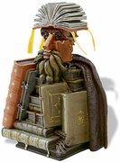 The Librarian (ca. 1566) by Arcimboldo