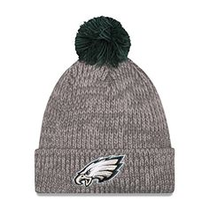 New Era Mens Cuff Start Philadelphia Eagles Grey Hat One Size Fits All -- See this great product.