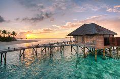 Honeymoon Water Villa at the Conrad in the Maldives  By adametrnal