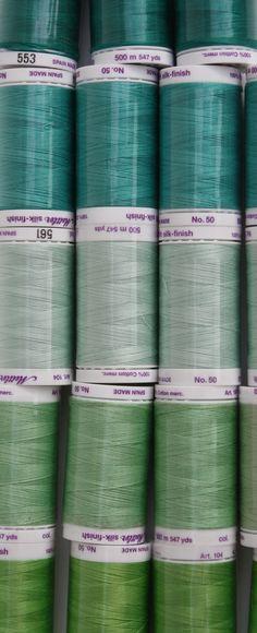 Shades of green - a colour palette Colour Schemes, Color Combos, Color Patterns, Colour Palettes, World Of Color, Color Of Life, Color Crafts, Colour Board, Sewing Box