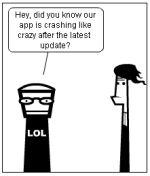Social Media Comic - Communicating With Your Customer Community  #socialflo #Ihumor #socialmedia