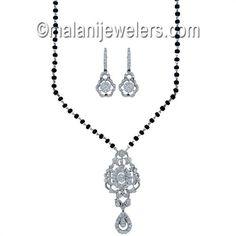 Diamond Mangalsutra Gold Exquisite.