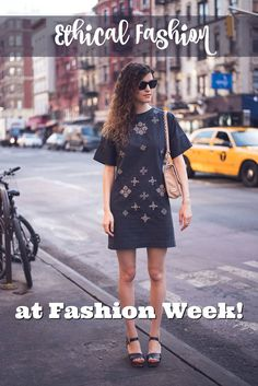 Ethical Fashion styled for New York Fashion Week! Making fair trade fashionable!