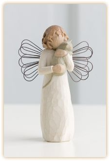Love the willow tree angels and figurines.