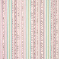 Clementine Stripe Fabric Multi - Laura Ashley - simply gorgeous