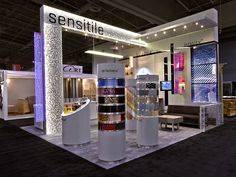 Sensitile Systems IIDEX 2013 trade show booth display.