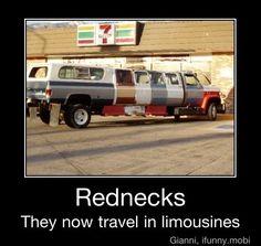 Rednecks....