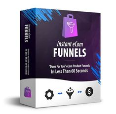 Instant eCom Funnels – what is it? Instant eCom Funnels is a three step push-button software that will help you reate highly profitable eCom Sales Funnels in less than 60 seconds. Internet Marketing, Online Marketing, Affiliate Marketing, Youtube Facts, Make Money Online, How To Make Money, Google Traffic, Social Share Buttons, Drop Shipping Business