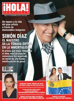 Homenaje a Simón Díaz, vuelto un ser inmortal luego de su partida. Artistas dan apoyo a Venezuela en premios Lo Nuestro
