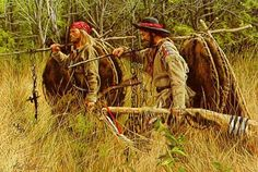 Mountain men trappers