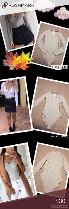 Spotted while shopping on Poshmark: Neck strapped body suit! #poshmark #fashion #shopping #style #gypsi's #Tops