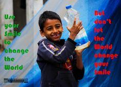জীবনে কঠিন সময় আসবেই, কঠিন সময়ের সবচেয়ে কঠিন কাজ মুখের হাসি ধরে রাখা। অনেক সময় অনেক কঠিন পরিস্থিতি সহজ করে দেয় একটুখানি হাসি।  হতাশা নয়, সহিংসতা নয়, চেষ্টা করুন আপনার সুন্দর ব্যবহার দিয়ে চারপাশের পরিবেশ পরিবর্তন করার।   #Keep_Smiling