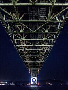 Akashi-Kaikyo Bridge #japan #hyougo