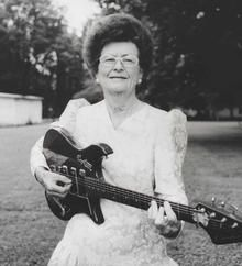 Cordell Jackson:  American guitarist thought to be the first woman to produce, engineer, arrange and promote music on her own rock and roll music label