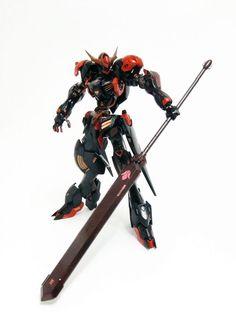 HG Gundam Barbatos Lupus - Painted Build Modeled by UC Timeline Legos, Barbatos Lupus, Blood Orphans, Gundam Iron Blooded Orphans, Anime Toon, Gundam Astray, Gundam Wallpapers, Gundam Mobile Suit, Arte Robot