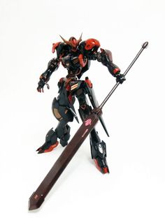 GUNDAM GUY: HG 1/144 Gundam Barbatos Lupus - Painted Build