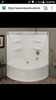 Lyons Sea Wave V Corner Soaking Bathtub At Menards®