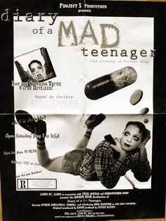 Diary of a MAD Teenager (the birthday of Michael Alig