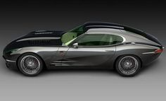 The Lyonheart K is a 21st century version of the classic Jaguar E-type sports car.