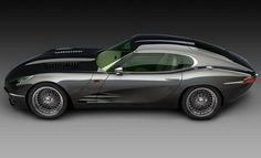 The Lyonheart K is a 21st century version of the classic Jaguar E-type sports car.