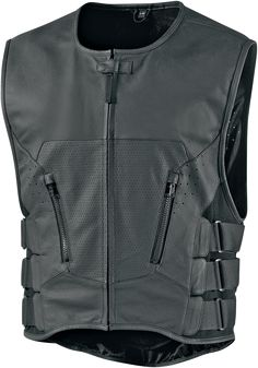 Regulator D3o Stripped Vest - Black Stripped | Products | Ride Icon