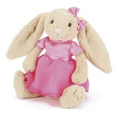 This is the brand new Spring 2014 Jellycat Betsy Bunny Ballerina. Size: 23cm (9ins). Price: £14.95 (GBP).