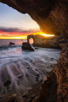 ~~Central Coast Arch | Pirate's Cove, Avila Beach,  San Luis Obispo County, California | by Mark Gvazdinskas~~