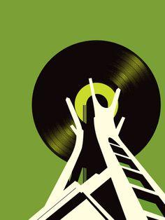 62 BPM  (green) - The Music City Series / PowerslideDesignCo
