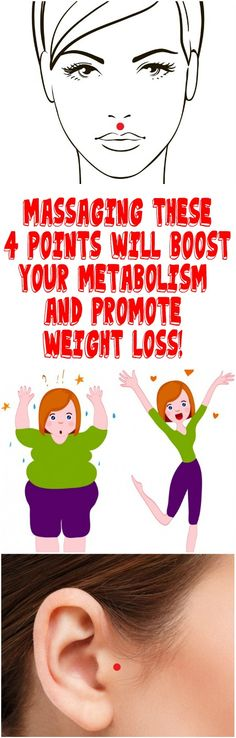 MASSAGING THESE 4 POINTS WILL BOOST YOUR METABOLISM AND PROMOTE WEIGHT LOSS!