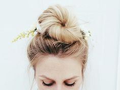freepeople:   2 Pack Floral Hair Picks styled by fpamy on FP Me