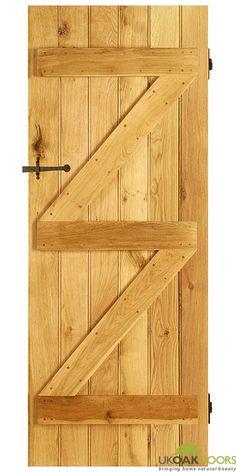 Traditional Oak Bedroom Door - Ledge and Brace | Dream Home | Pinterest | Oak bedroom Bedroom doors and Doors  sc 1 st  Pinterest & Traditional Oak Bedroom Door - Ledge and Brace | Dream Home ...
