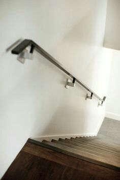 Wall Handrails For Stairs Iron Work Pinterest Stair Walls