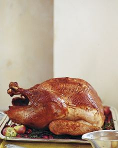 How to brine a turkey for Thanksgiving.