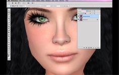Second Life Snapshots - Those Pesky Lines!