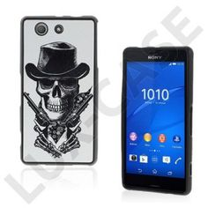 Westergaard Sony Xperia Z3 Compact Cover - Sejt Kranie Med Pistoler