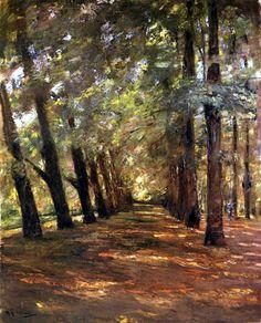 Max Liebermann - Avenida en Overveen, Elswond cerca de Haarlem