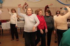 Festejo de los 97 años de Elvira en el Centro de Día Nº9