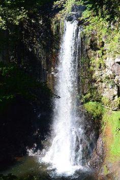 La cascade d'Entraigues