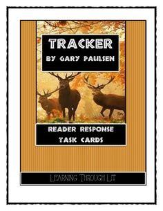 Tracker (Gary Paulsen) Novel Study / Reading Comprehension | To be ...