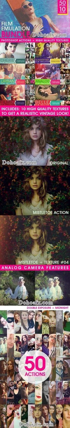 Gói photoshop action làm màu phim (film) không thể thiếu