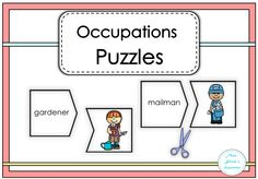 $ Occupations Puzzles