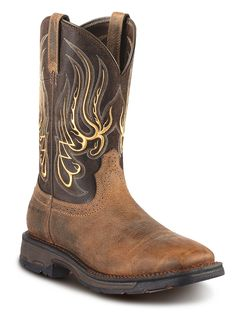 Mens Ariat Workhog Boots 10010891 - Texas Boot Company is located in Bastrop, Texas. www.texasbootcompany.com